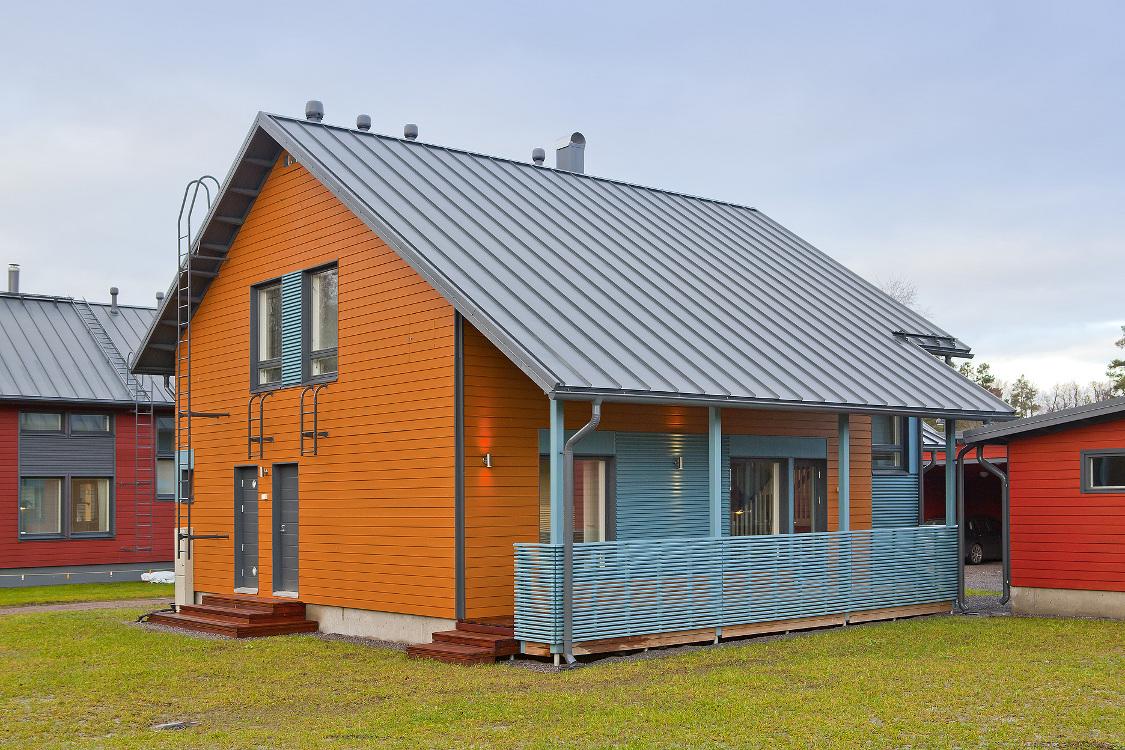 Как сделаны финские дома